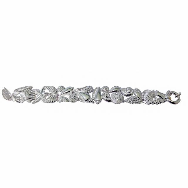 Sterling Sea Shells Bracelet