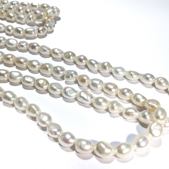 """80"""" Pearl Strand Necklace"""