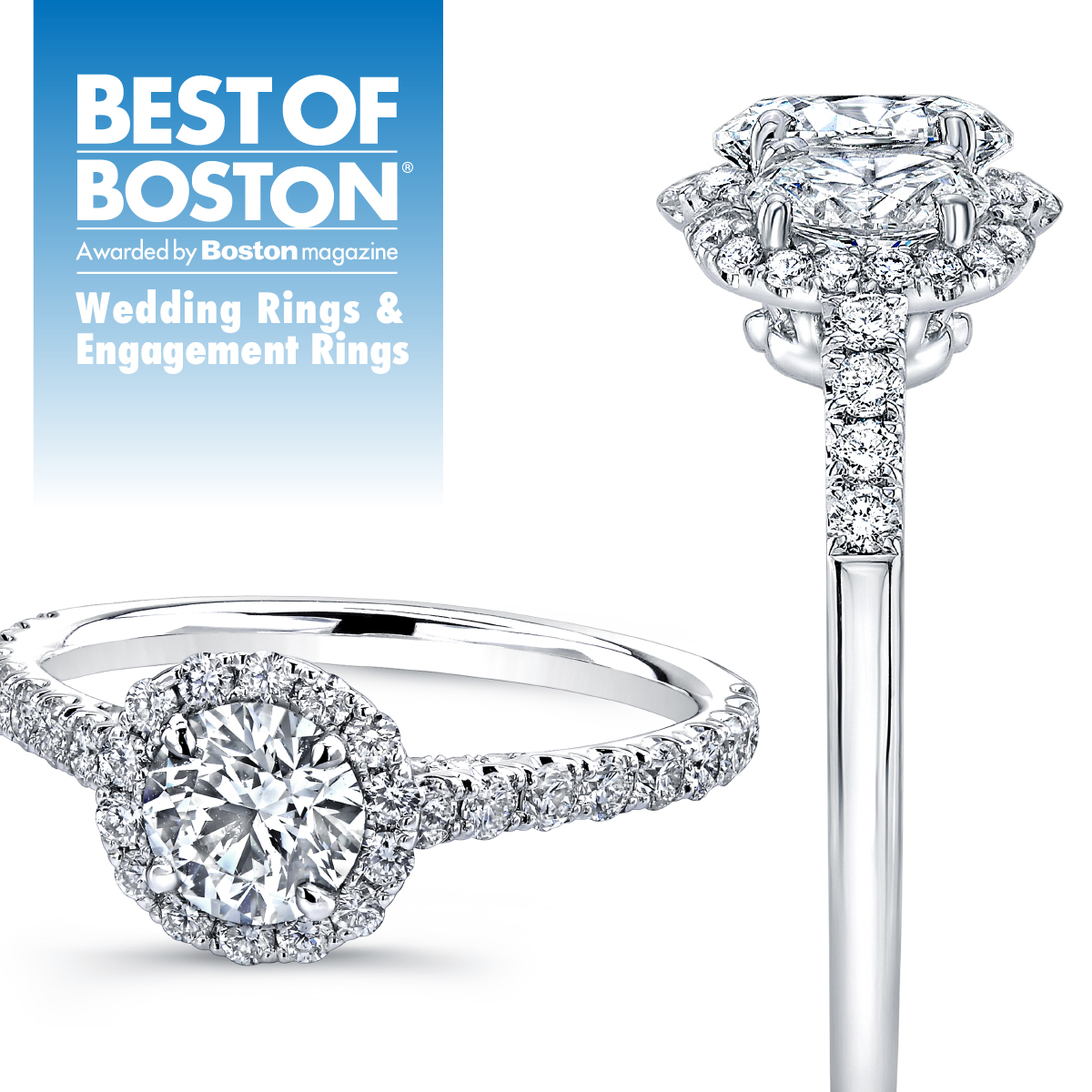 Boston Jeweler For Engagement Rings Fashion Diamond Jewelry