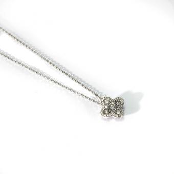 Diamond Solid Quad Pendant