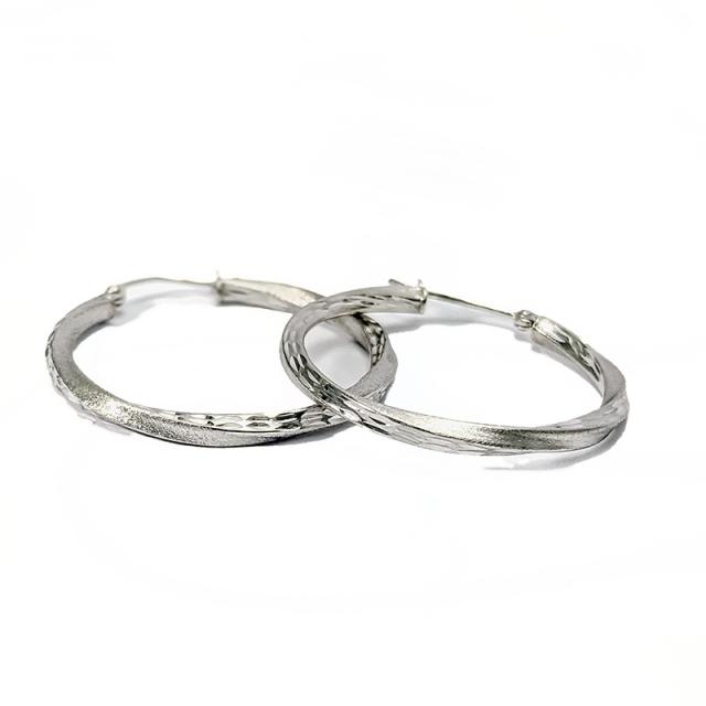 Sterling Round Earrings